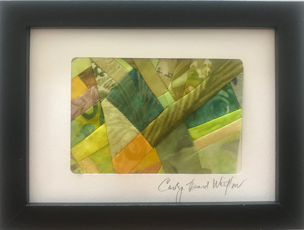 Carolyn Beard Whitlow - *Framed Small Quilt - Marsh