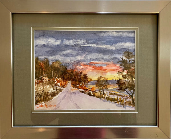 Julie Kasniunas - Lakefront Drive after the Snowstorm