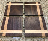Dale Nichols - Set/4 Walnut Coasters