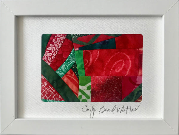 Carolyn Beard Whitlow - *Framed Small Quilt - Sparkles