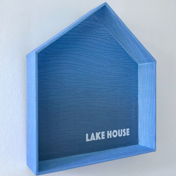 Judy Lynn - Lake House Tray & Wall Hanging - Large