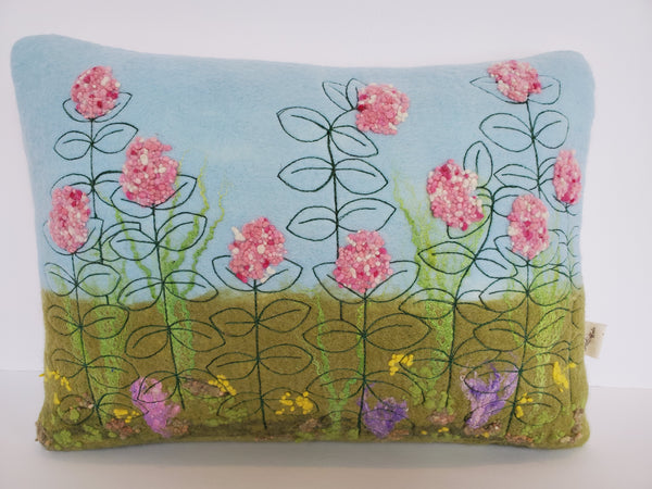 Kathy M Forzley - Felted Milkweed Pillow