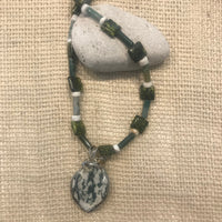 Carol Allen Agate Necklace
