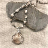 Carol Allen Shell and Picasso Necklace