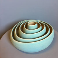 Lynne Tan Set/5 Ceramic Nesting Bowls
