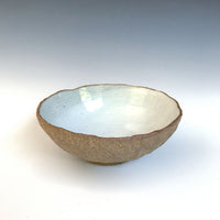 Steve Skinner - Shell Bowl in White
