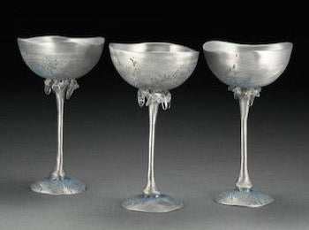 Pewter Winter Goblet