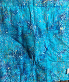 Quilt - Caribbean Sea by Carolyn Beard Whitlow