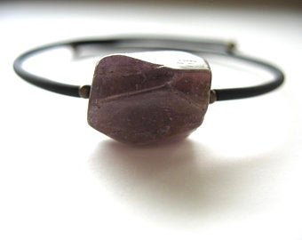 Jaclyn Dreyer - Amethyst Single Stone Bracelet