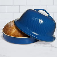 Sassafras - Superstone La Cloche® Bread Baker - Blue