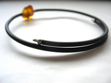 Jaclyn Dreyer - Double Amber Stone Bounce Back Bracelet