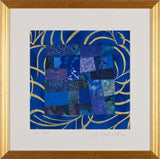 Carolyn Beard Whitlow - Star Sea Framed Quilt