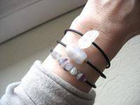 Jaclyn Dreyer - Quartz Crystal Bounce Back Bracelet