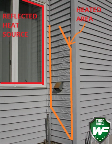 how to stop siding from melting