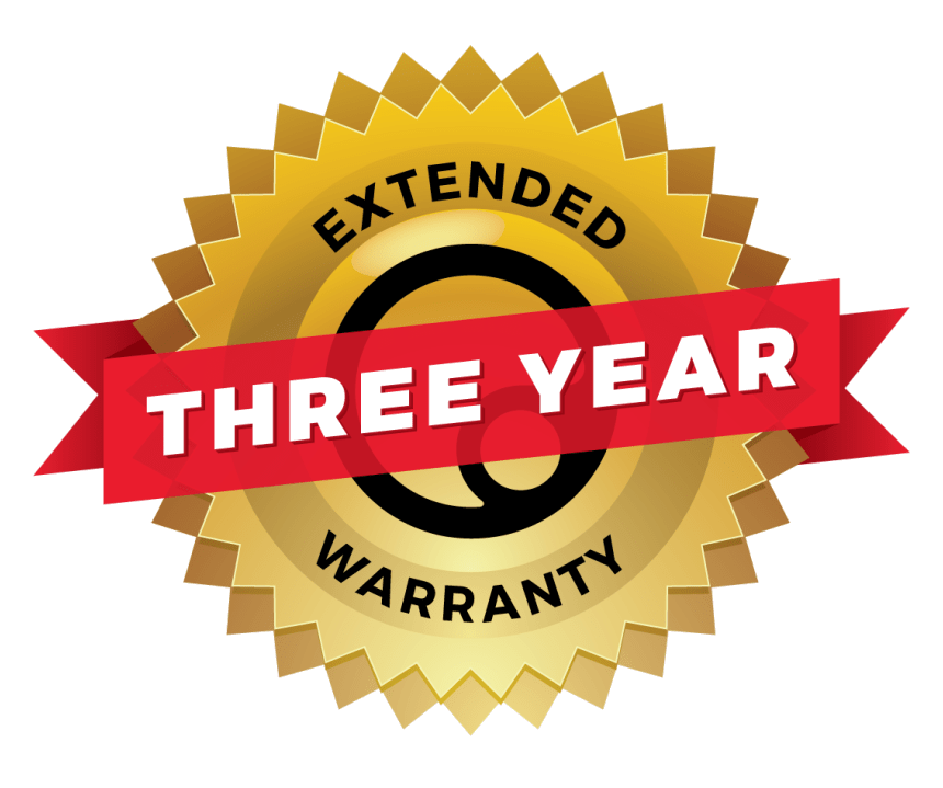 THREE Year Extended Warranty - Ergoal
