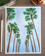 Load image into Gallery viewer, Row of Palms | 6x8