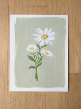 Load image into Gallery viewer, Day 2 Daisy | 9X12 inch original painting