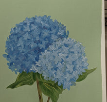 Load image into Gallery viewer, Day 28 Hydrangea | 9X12 inch original painting