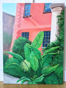 The Olde Pink House Painting | 18 X 24