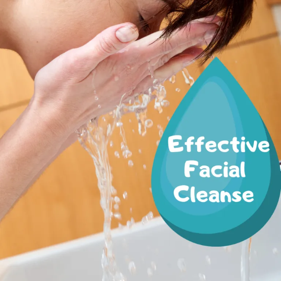 effective facial cleanse