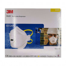 Load image into Gallery viewer, 3M Aura Particulate Respirator 9312A+ FFP1 10/Box