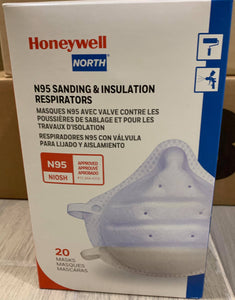 Honeywell Sperian ONE-Fit N95 Molded Cup Disposable Particulate Respirator 20/Box