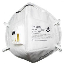 Load image into Gallery viewer, 3M 9010V N95 Valved Mask, Individually Wrapped, 20/Box