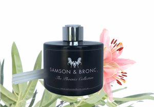 Luxury reed diffuser - Black bamboo & Lily