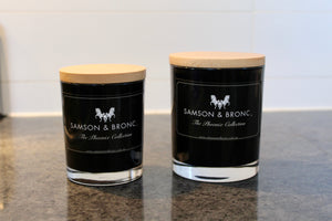 Black Bamboo & Lily Soy Wax Candle