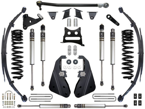 "17-UP FORD F-250/F-350 7"" STAGE 1 SUSPENSION SYSTEM - 17-UP FORD F-250/F-350 7"" STAGE 1 SUSPENSION SYSTEM - ICON Vehicle Dynamics - Texas Complete Truck Center"