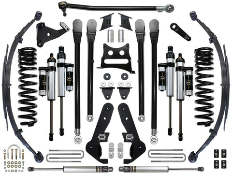 "17-UP FORD F-250/F-350 7"" STAGE 4 SUSPENSION SYSTEM - 17-UP FORD F-250/F-350 7"" STAGE 4 SUSPENSION SYSTEM - ICON Vehicle Dynamics - Texas Complete Truck Center"