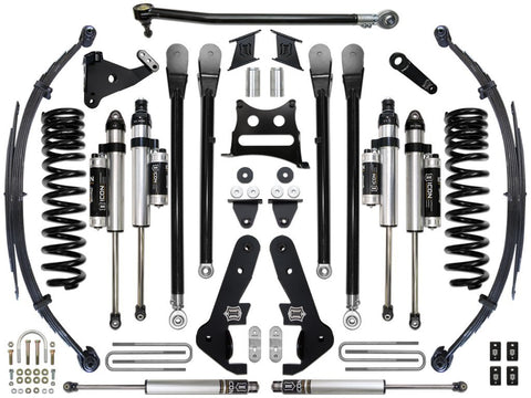 "17-UP FORD F-250/F-350 7"" STAGE 5 SUSPENSION SYSTEM - 17-UP FORD F-250/F-350 7"" STAGE 5 SUSPENSION SYSTEM - ICON Vehicle Dynamics - Texas Complete Truck Center"