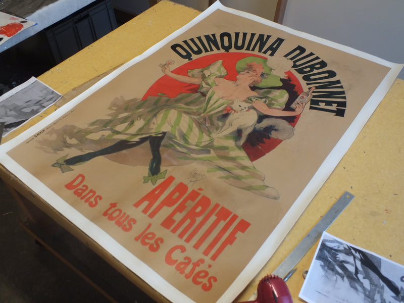 Poster Restoration & Linen Backing - French Grande $375