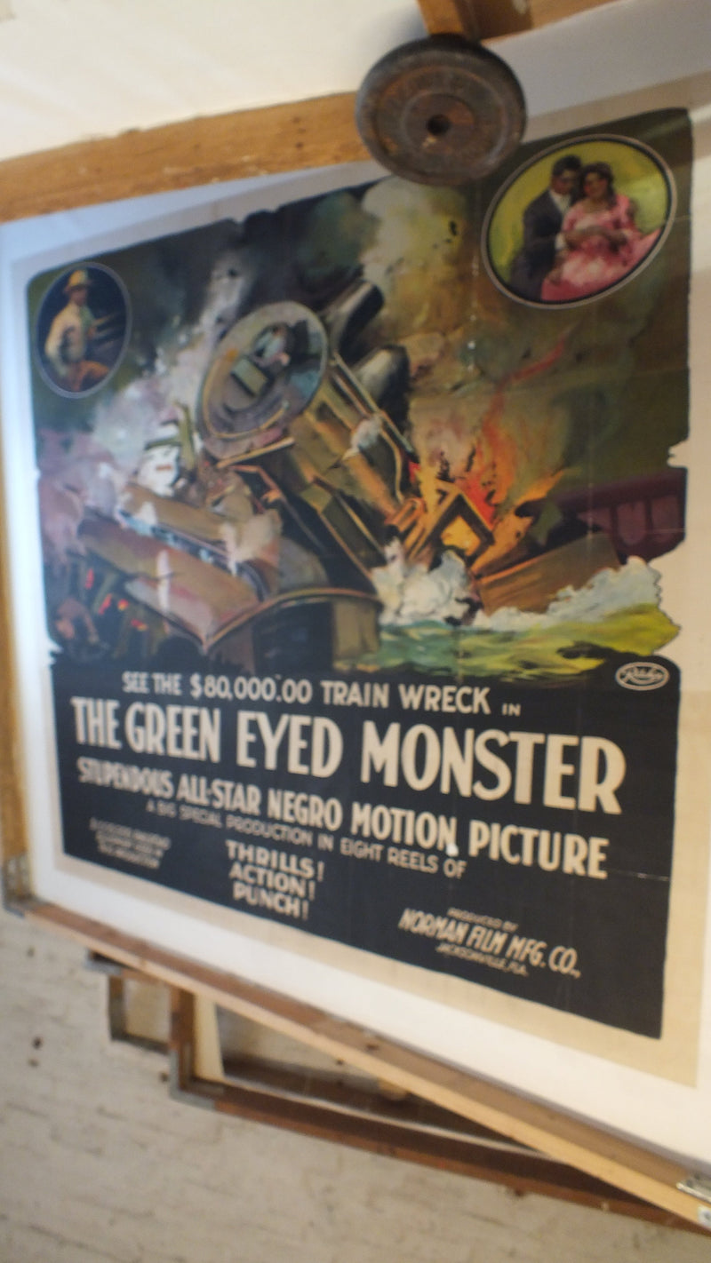 Poster Restoration & Linen Backing - US Six-Sheet - $950