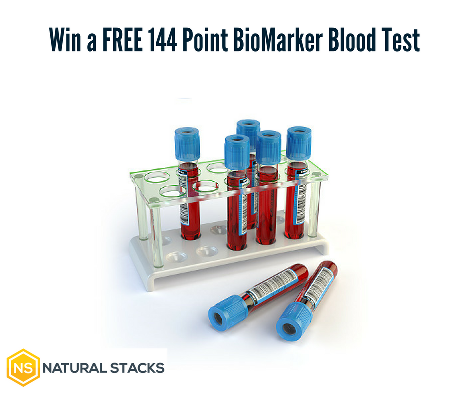 Win a FREE 144 Point Biomarker Blood Test