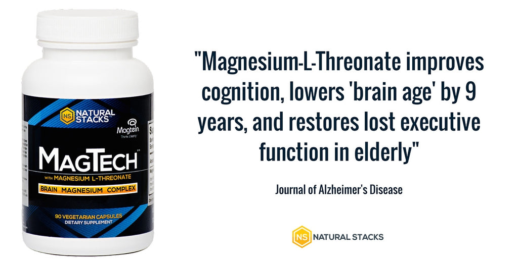 This Form Of Magnesium Reverse Brain Aging and Restores Neurons