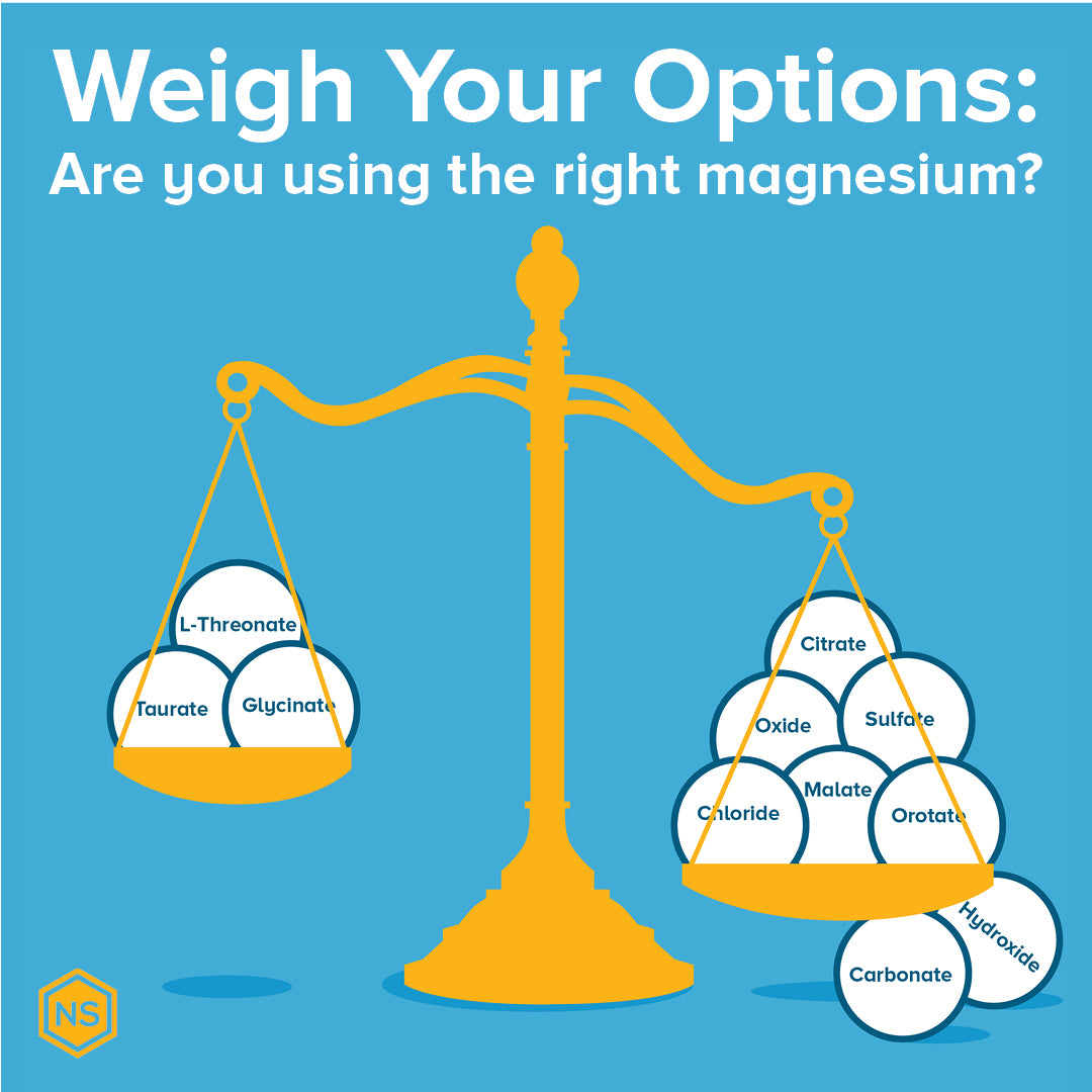 Are you using the right types of magnesium supplements?