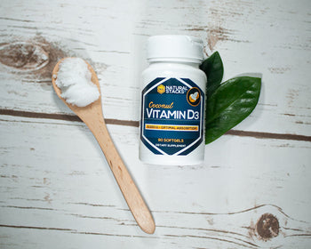 Vitamin D3 w/ Organic Coconut Oil - FREE BONUS Collection