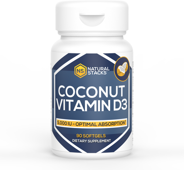 Vitamin D3 w/ Organic Coconut Oil