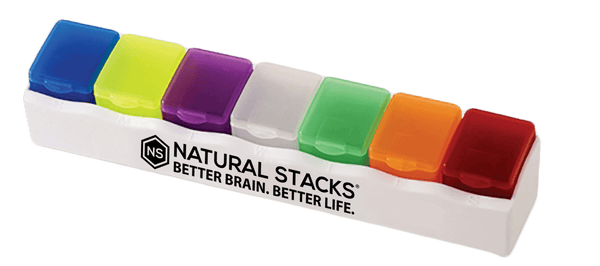 Natural Stacks 7-Day Organizer