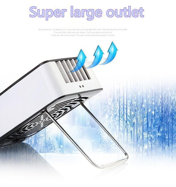 Portable handheld air-conditioner