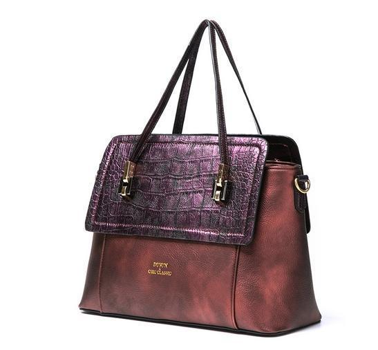 DUSUN Crocodile Texture Women Shoulder Bags Fashion