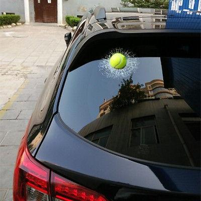 3D Tennis Ball Window Sticker