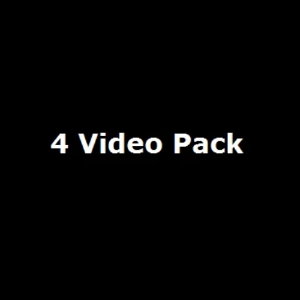 Our Standard 4 Video Pack ($270 x 4)