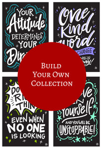 InSTALLing Inspiration - Single Decals | Build Your Own Collection A