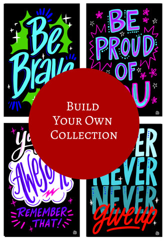 InSTALLing Inspiration - Single Decals | Build Your Own Collection B