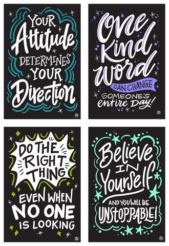 The Positive Kindness Collection | 4 - Pack