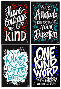 The Kind Attitude Collection | 4 - Pack