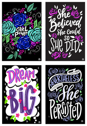 The Girl Power Collection | 4 - Pack