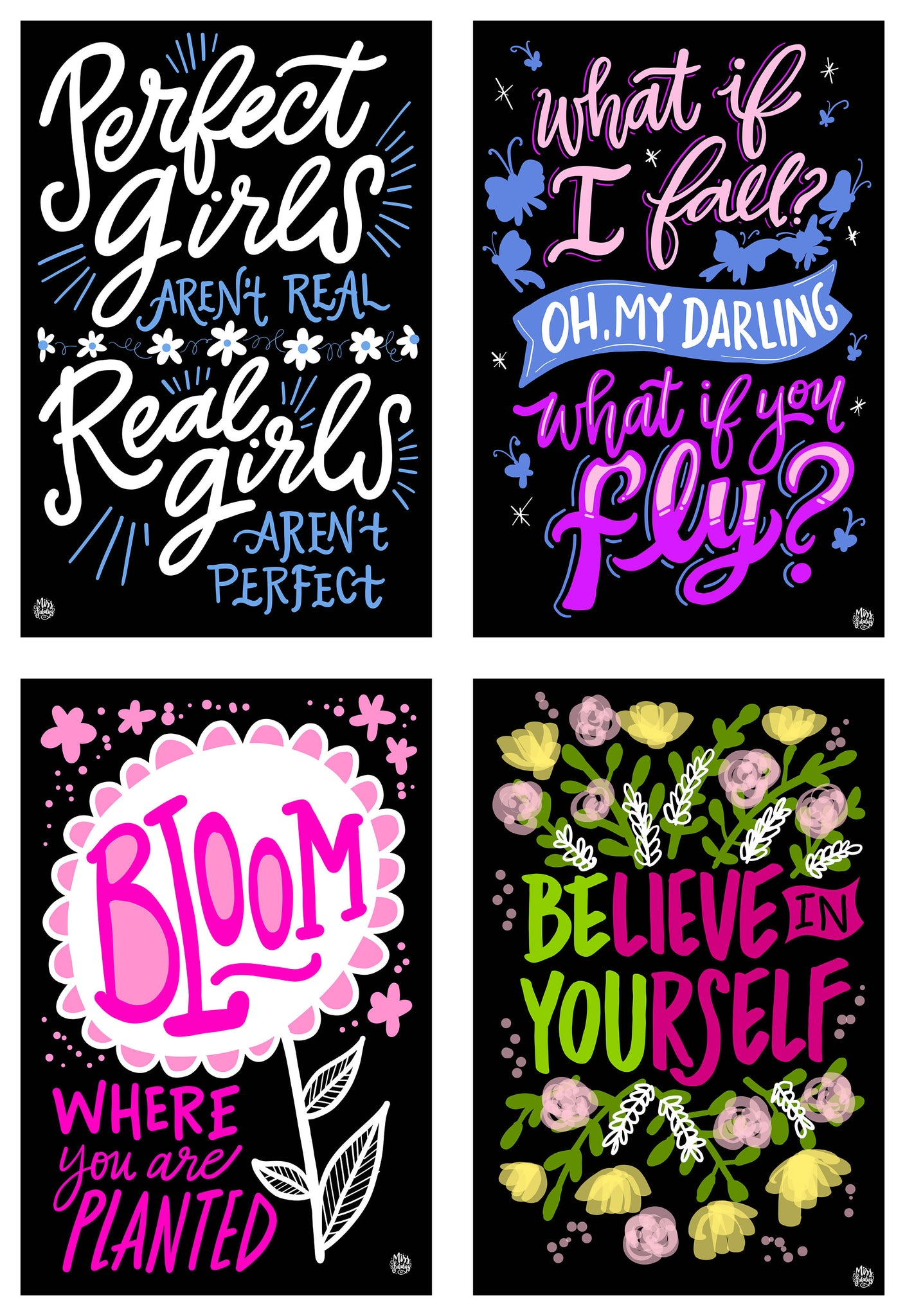 The Real Girls Collection | 4 - Pack